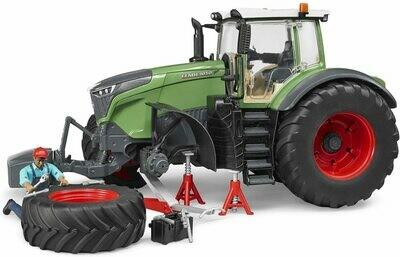 BRUDER; Fendt X 1000 Tractor W Repair Accessories