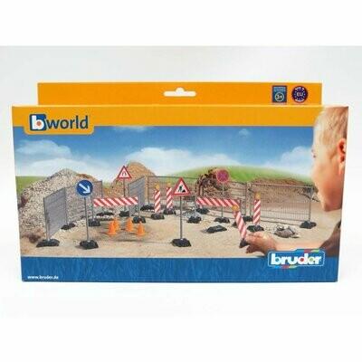 BRUDER; Construction Site Set