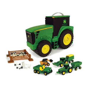 JohnDeere; Jd Fun On The Go Tractor Case