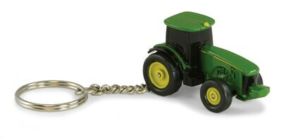 JohnDeere; John Deere Modern Tractor Key Chain