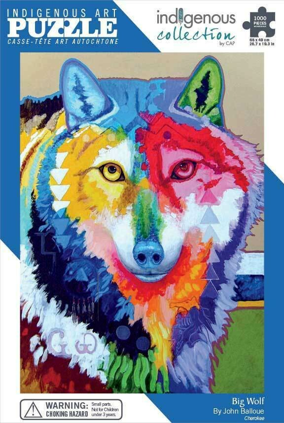 Indigenous Collection: Big Wolf
