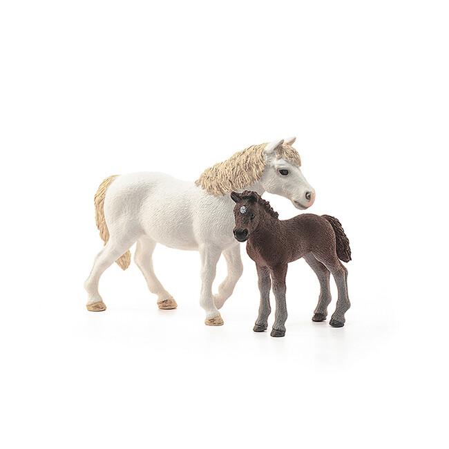 Schleich: Farm World - Pony Mare & Foal