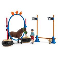 Schleich: Farm World - Pony Agility Race