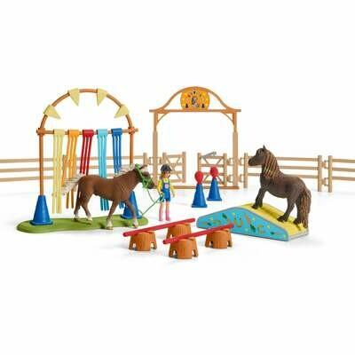 Schleich: Farm World - Pony Agility Training