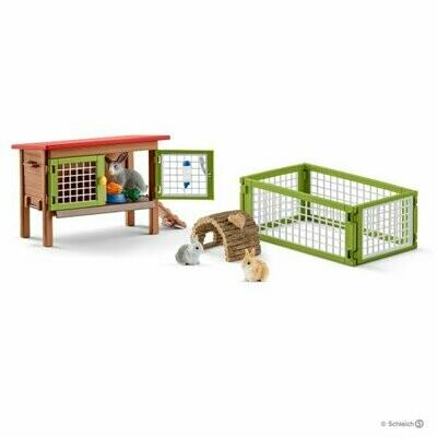 Schleich: Farm World - Rabbit Hutch