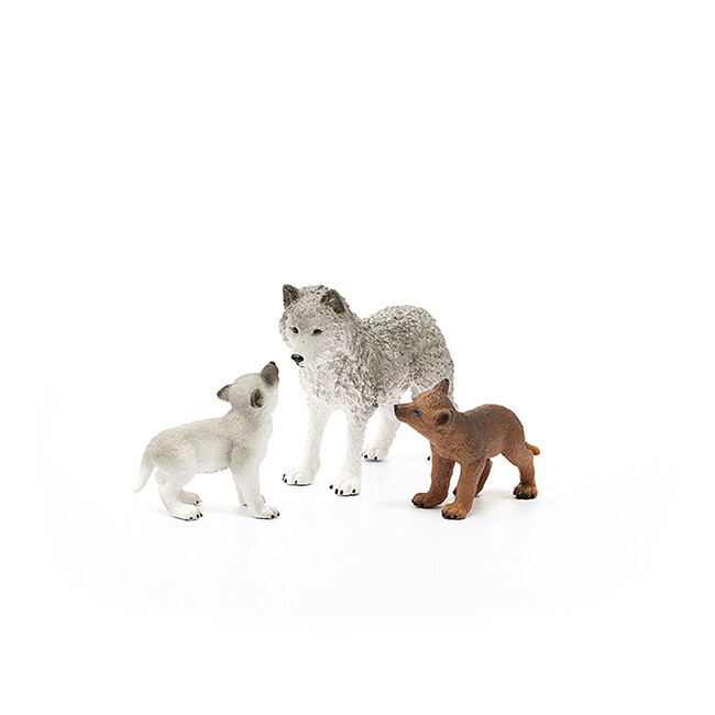 Schleich: Wild Life - Mother Wolf With Pups