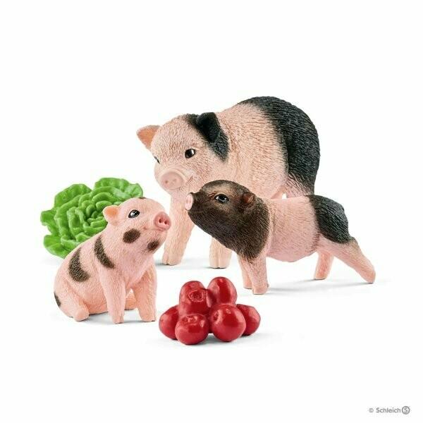 Schleich: Farm World - Miniature Pig Mother & Piglets