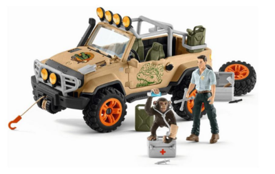 Schleich: Wild Life - Off-Roader With 