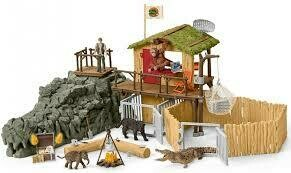 Schleich: Wild Life - Croco Jungle Research Station