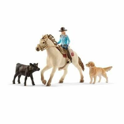 Schleich: Farm World - Western Riding