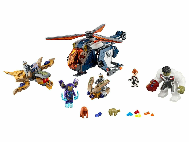 Lego; Avengers Hulk Helicopter Rescue V39