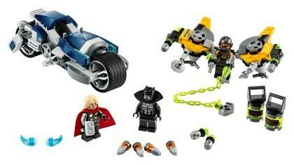 Lego; Avengers Speeder Bike Attack V39
