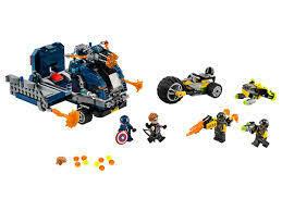 Lego; Avengers Truck Take-down V39