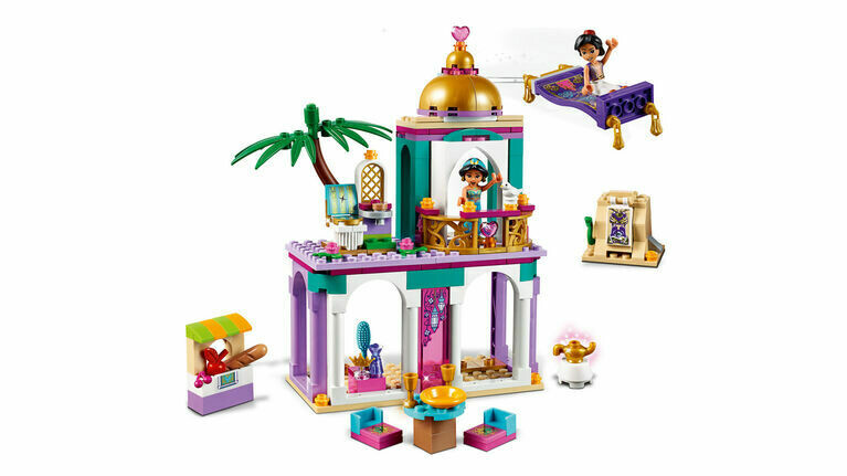 Lego; Aladdin And Jasmine's Palace Adventures