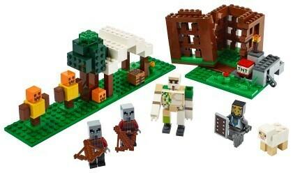 Lego; The Pillager Outpost V39