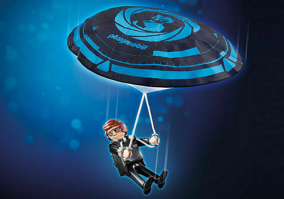 Playmobil; The Movie: Rex Dasher Wit h Parachute