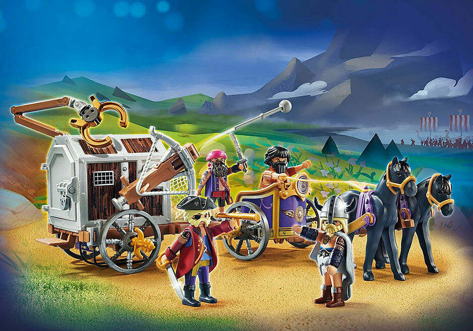 Playmobil; The Movie: Charlie with Prison Wagon