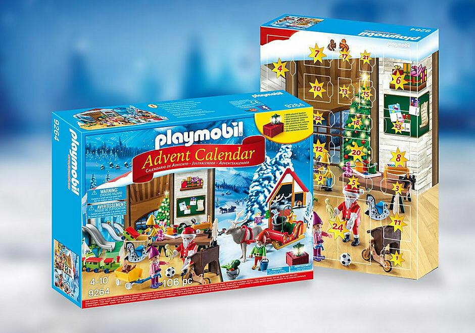 Playmobil; Advent Calendar - Santa's Workshop