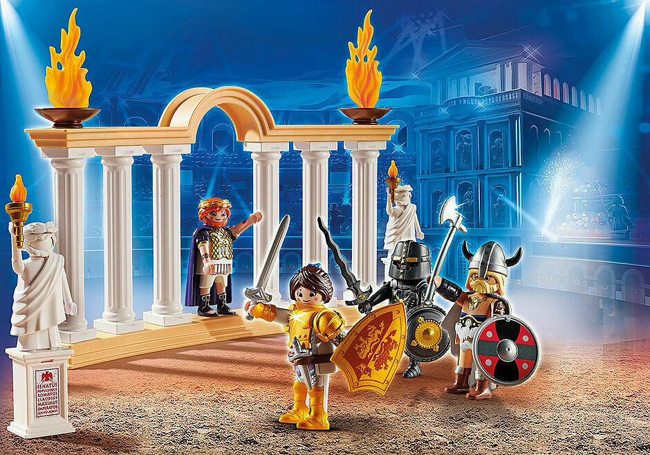 Playmobil; The Movie: Emperor Maximus in the Colosseum