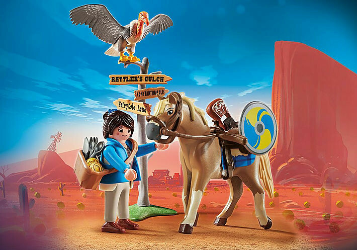 Playmobil; The Movie: Marla with Horse