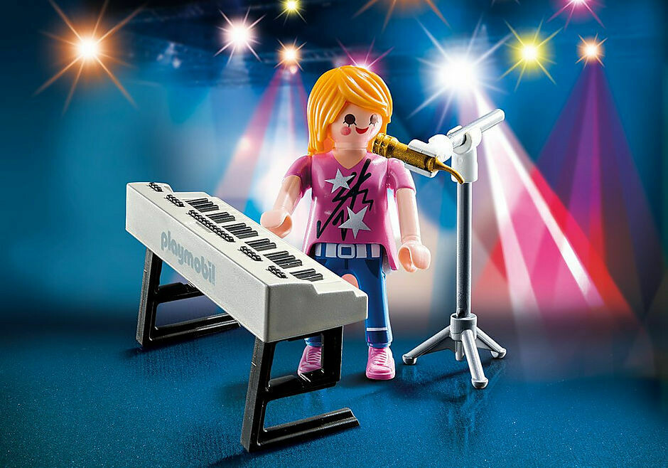 Playmobil: Singer With Keyboard