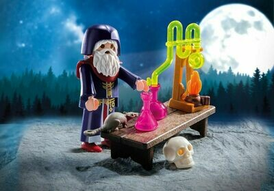 Playmobil; Alchemist With Potions (Discontinued)