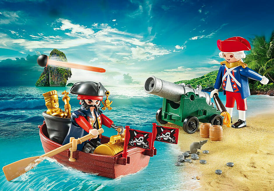 Playmobil: Pirate Raider Carry Case