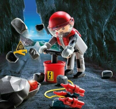 Playmobil: Rock Blaster And Bubble (Discontinued)