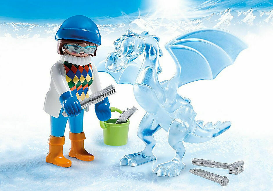 Playmobil: Ice Sculpter (Discontinued)