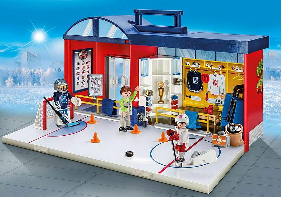 Playmobil; Nhl Take Along Arena