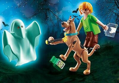 Playmobil: Scooby-Doo Scooby and Shaggy with Ghost