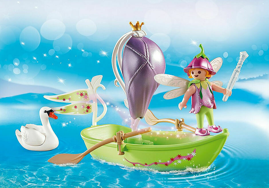 Playmobil; Fairy Boat Carry Case