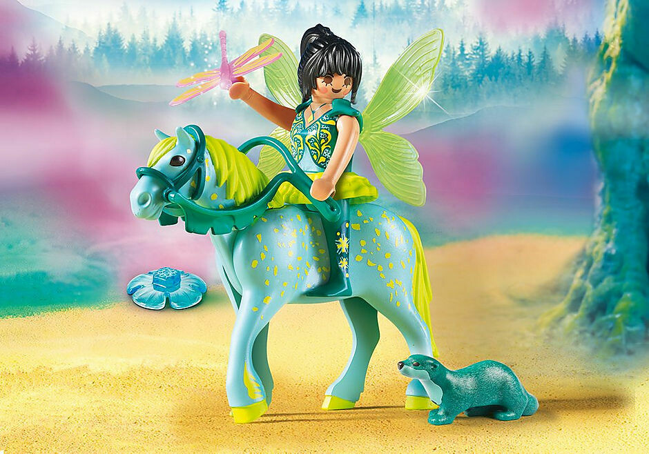 Playmobil; Enchanted Fairy With Horse
