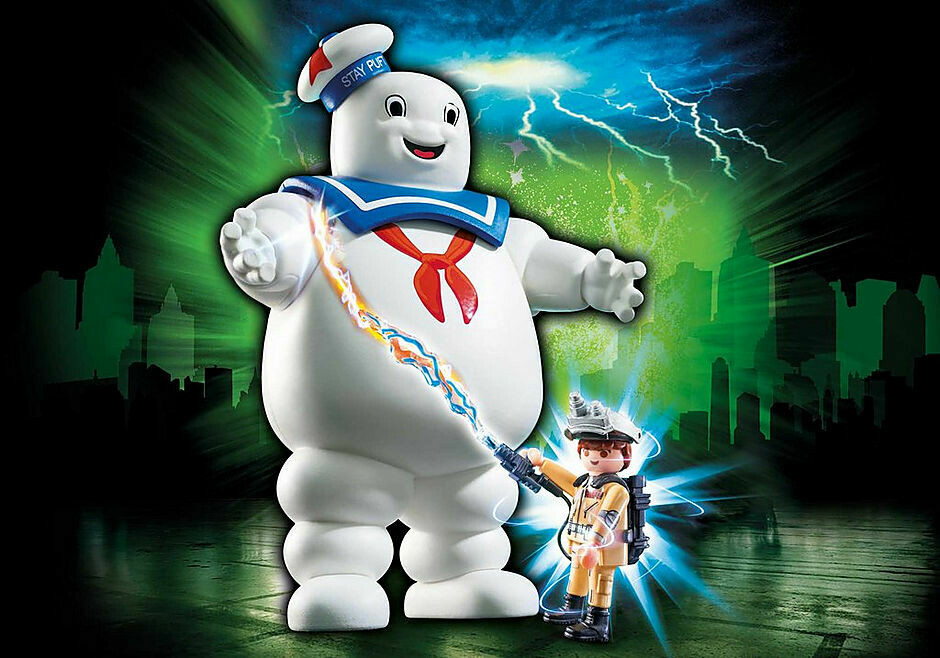 Playmobil; Ghostbusters Stay Puft Marshmallow Man