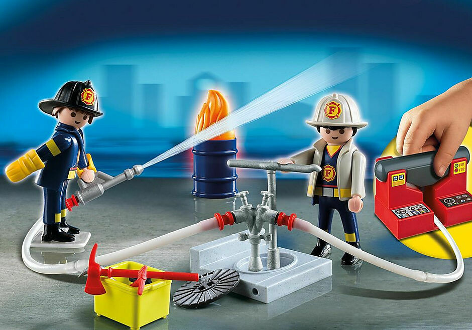 Playmobil; Fire Rescue Carry Case