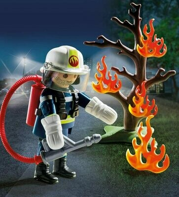 Playmobil: Firefighter with Tree