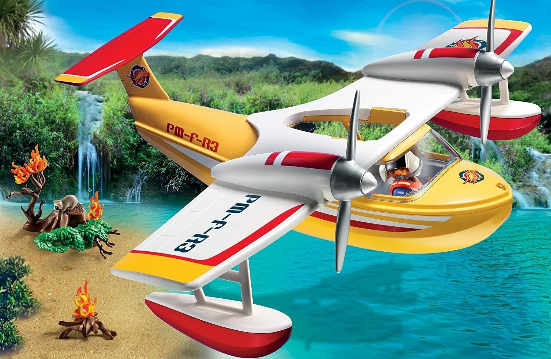 Playmobil; Firefighting Seaplane