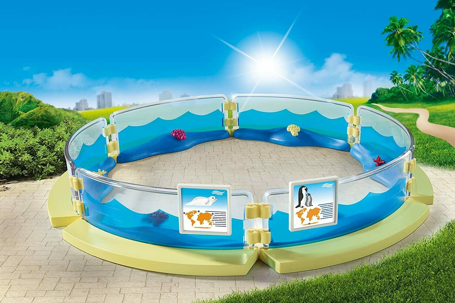 Playmobil: Aquarium Enclosure (Discontinued)