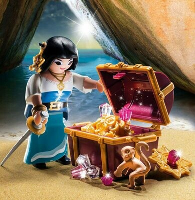 Playmobil: Pirate With Treasure (Discontinued)