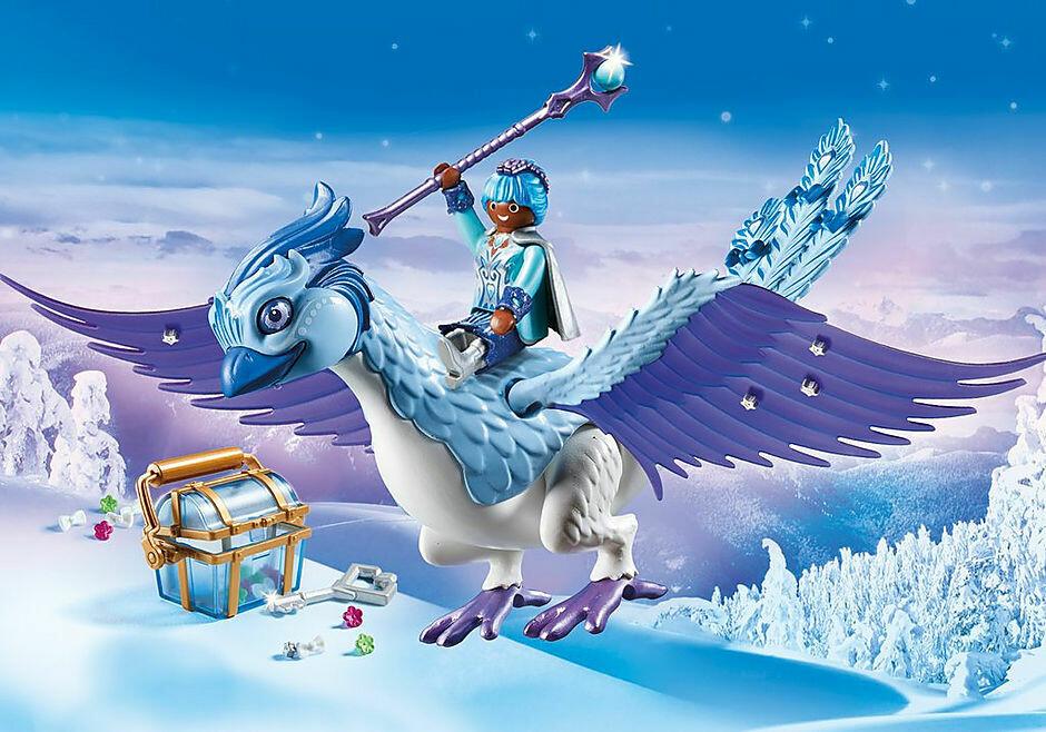 Playmobil; Yeti With Sleigh