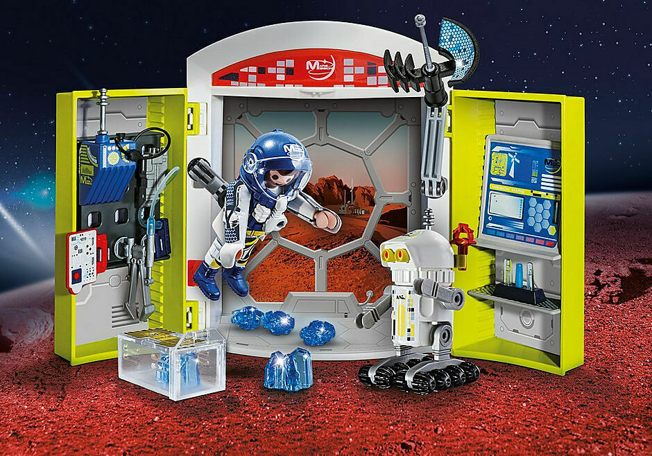 Playmobil: Mission To Mars Play Box