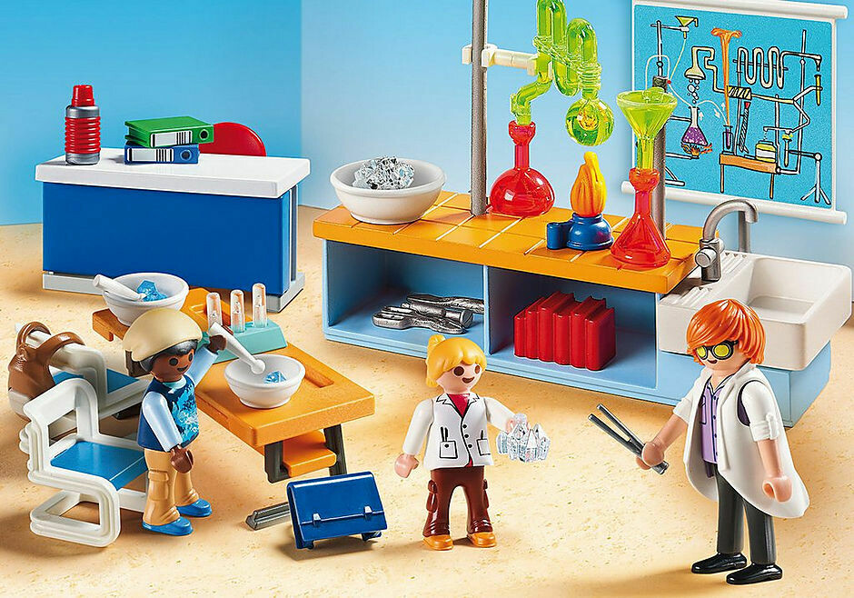 Playmobil; Chemistry Lessons