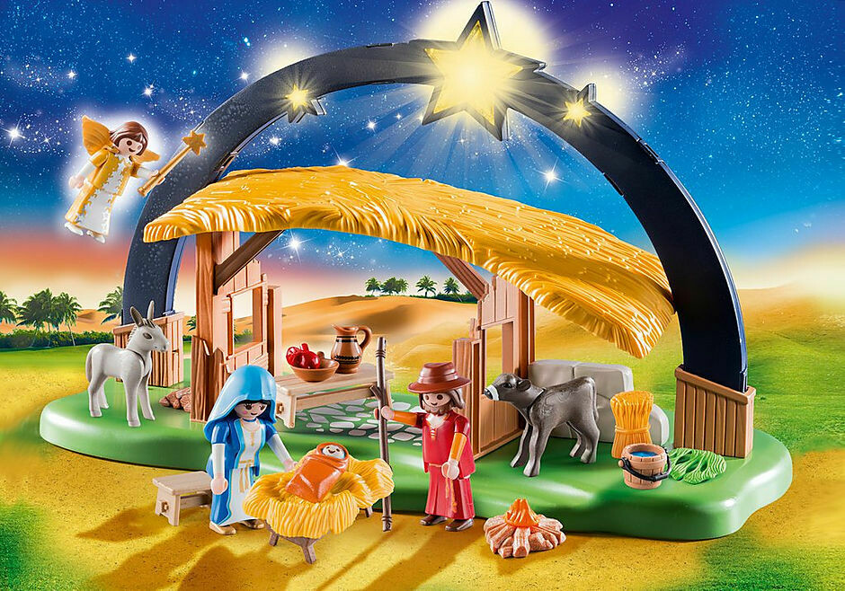 Playmobil; Christmas Manger