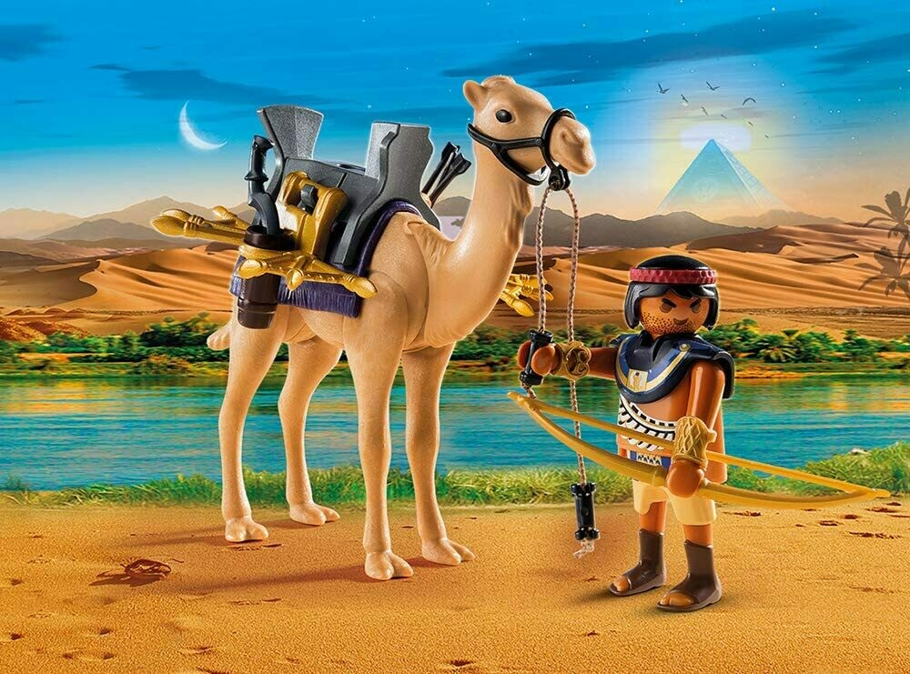 Playmobil: Egyptain Fighter On Camel (Discontinued)