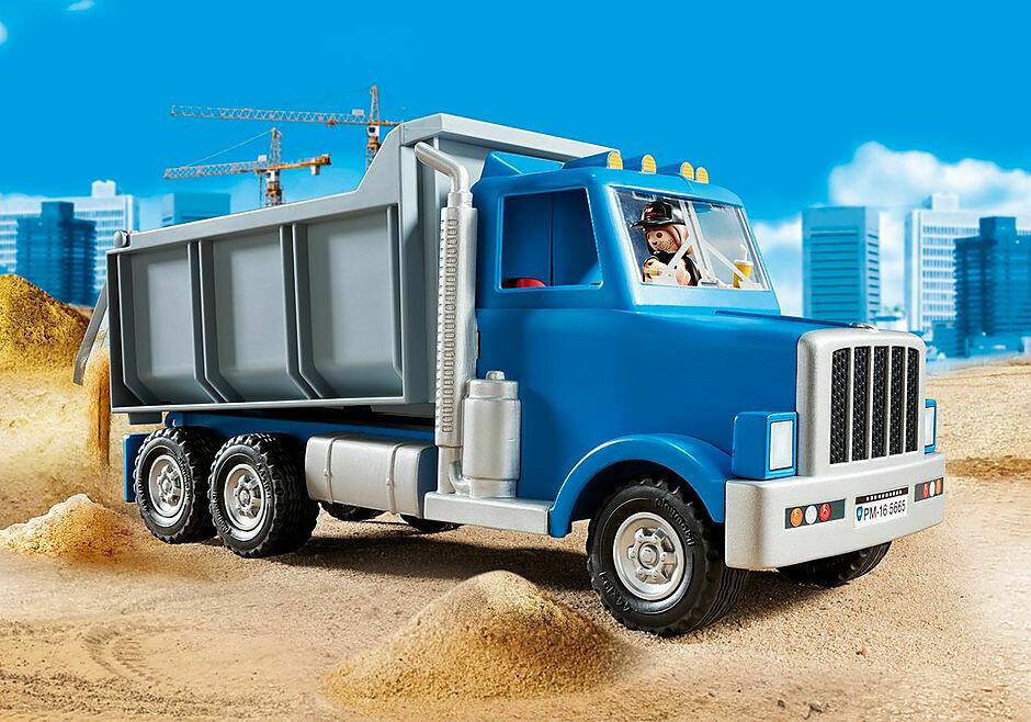 Playmobil; Dump Truck