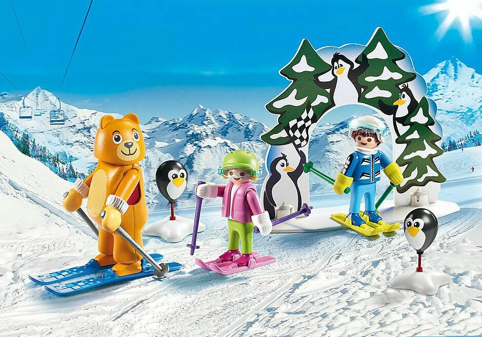 Playmobil; Ski Lesson