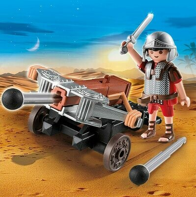 Playmobil: Legionnaire With Ballista (Discontinued)