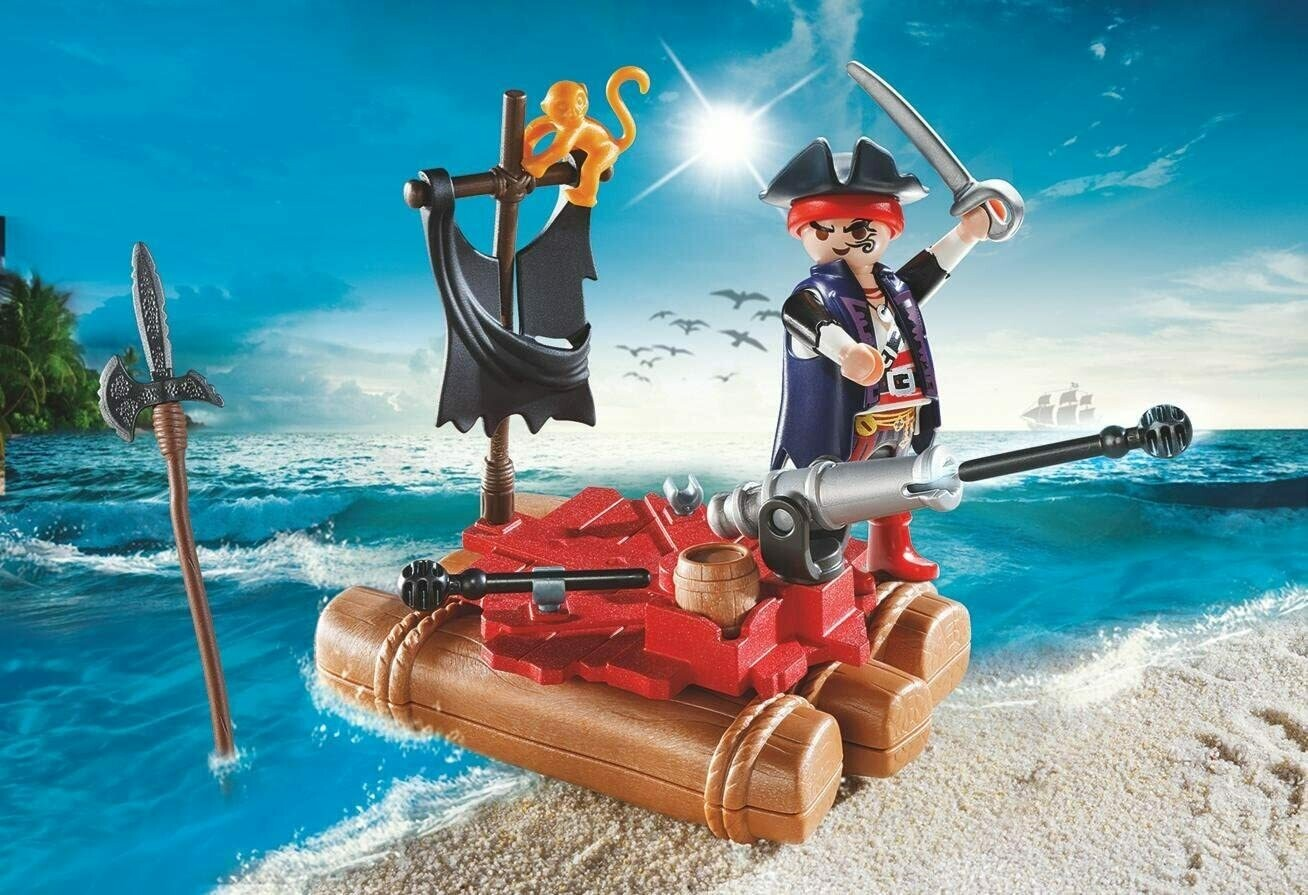 Playmobil: Pirate Raft Carry Case