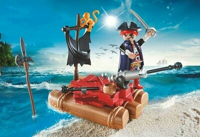 Playmobil: Pirate Raft Carry Case