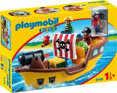 Playmobil; 123 Pirate Ship
